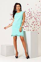 Платье с перфорацией в расцветках 33595, фото 1