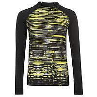 Лонгслив Slazenger NY Graphic Black/Yellow - Оригинал, фото 1