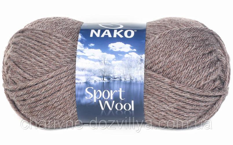 пряжа для ручного вязания Nako Sport Wool цена 55 грн купить в