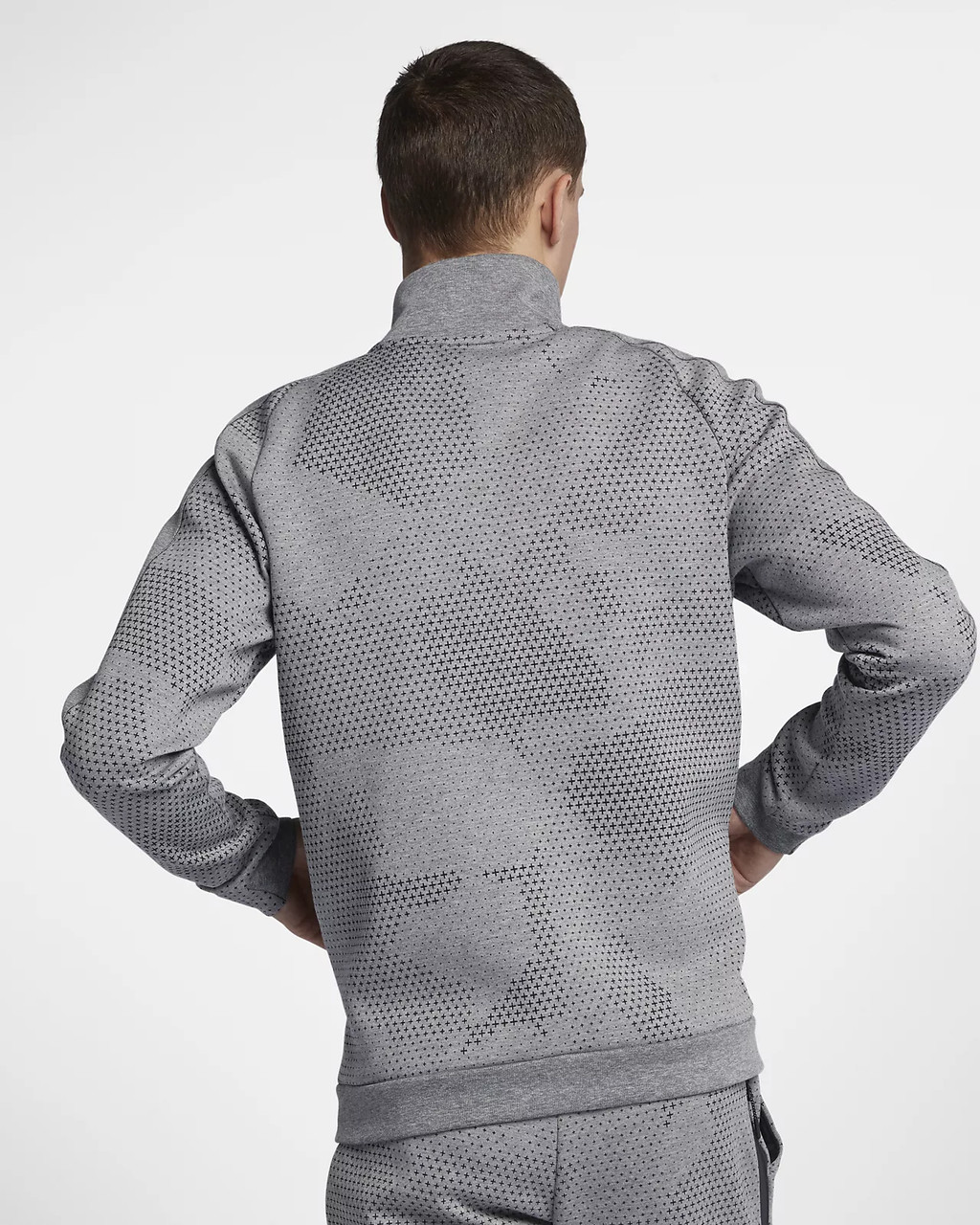 fa7f6a88 Купить Мужская куртка NIKE NSW Tech Fleece GX 1.0 (Артикул: 886172 ...
