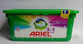 Капсулы для стирки Ariel Color 28 шт