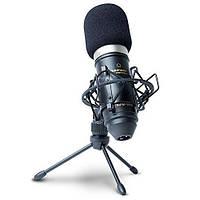 Микрофон Marantz Professional MPM-1000 диафрагменный конденсаторный с ветровым экраном, штативом