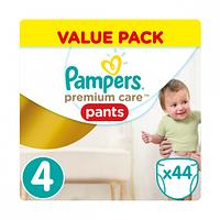 Подгузники-трусики Pampers Premium Care 4 (9-14 кг) 44 шт