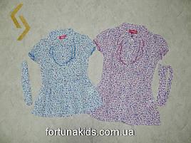 Блузки для девочек S&D 4-12 лет