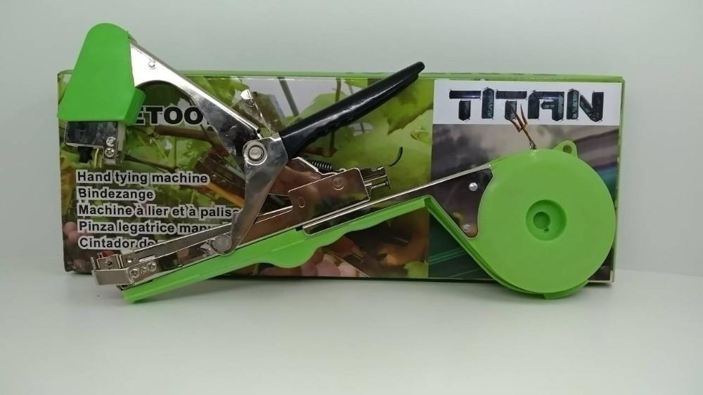 Степлер Tapetool для подвязки винограда, овощей и цветов