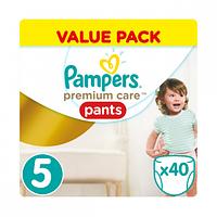 Подгузники-трусики Pampers Premium Care 5 (12-18 кг) 40 шт
