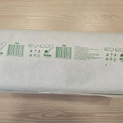 Полотенца бумажные зеленые z-образные 160 шт/уп