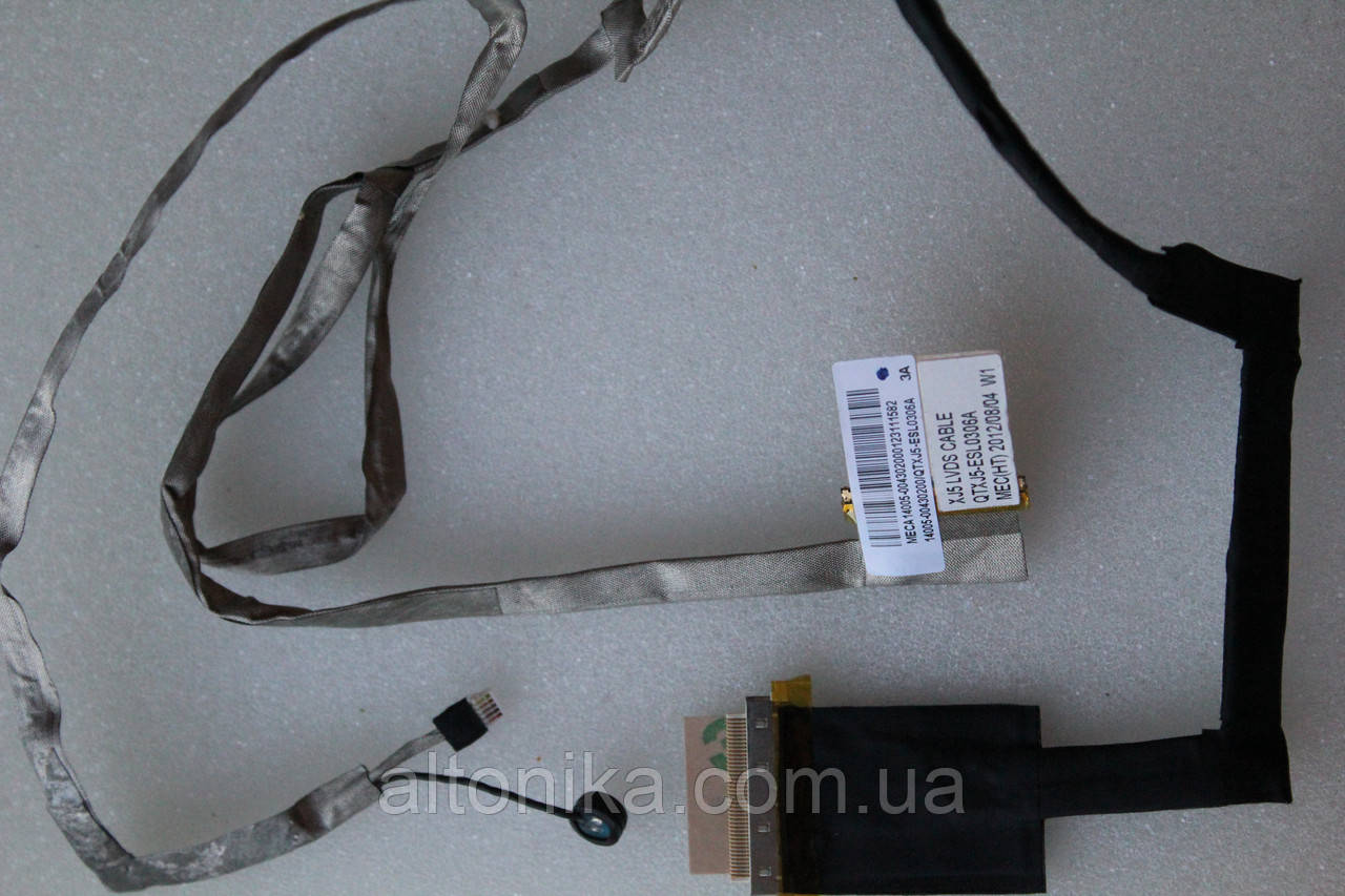 Шлейф матрицы для ноутбука Asus X501 x501a x501u (14005-00430200)