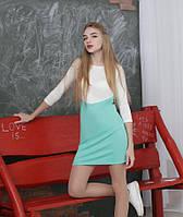 """Двухцветное платье """"Лаура"""