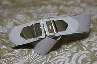 Женский ремень - резинка Т 322 серый