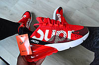 Мужские кроссовки Nike Air Max 270 Supreme Red/White. ТОП качество!