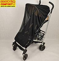 Москитная сетка универсальная на коляску черная, Kinder Comfort, фото 1