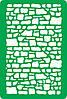Трафарет самоклеящийся многоразовый Ф_73, 10х15см