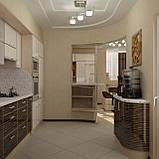 Кухня с радиусными фасадами, фото 2