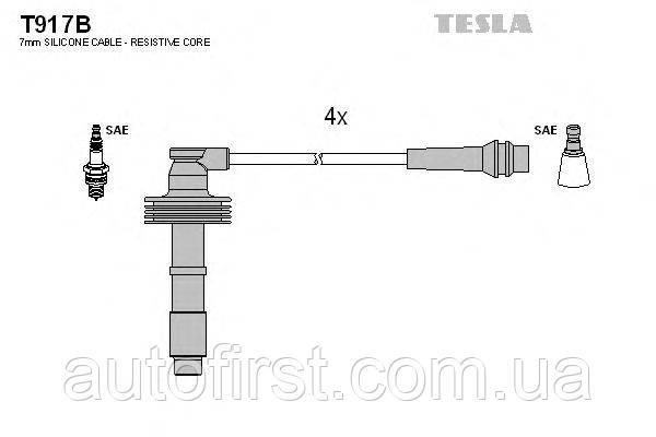 Tesla T917B Высоковольтные провода Renault, Volvo