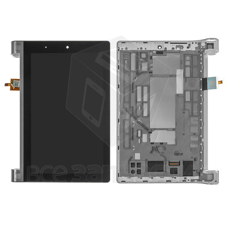 Дисплейный модуль для планшета Lenovo Yoga Tablet 2-830, черный,с рамкой