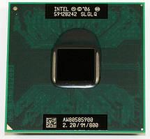 Процессор Intel Celeron 900 тактовая частота 2,20 ГГц, 1 МБ кэш-памяти, частота системной шины 800 МГц