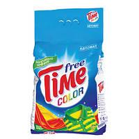 Стиральный порошок Free Time Color автомат 3 кг