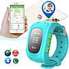 Дитячі розумні годинник Q50 з GPS-трекером | SMART BABY WATCH Q50 GPS LCD, фото 3