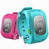 Дитячі розумні годинник Q50 з GPS-трекером | SMART BABY WATCH Q50 GPS LCD, фото 4