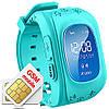 Дитячі розумні годинник Q50 з GPS-трекером | SMART BABY WATCH Q50 GPS LCD, фото 5