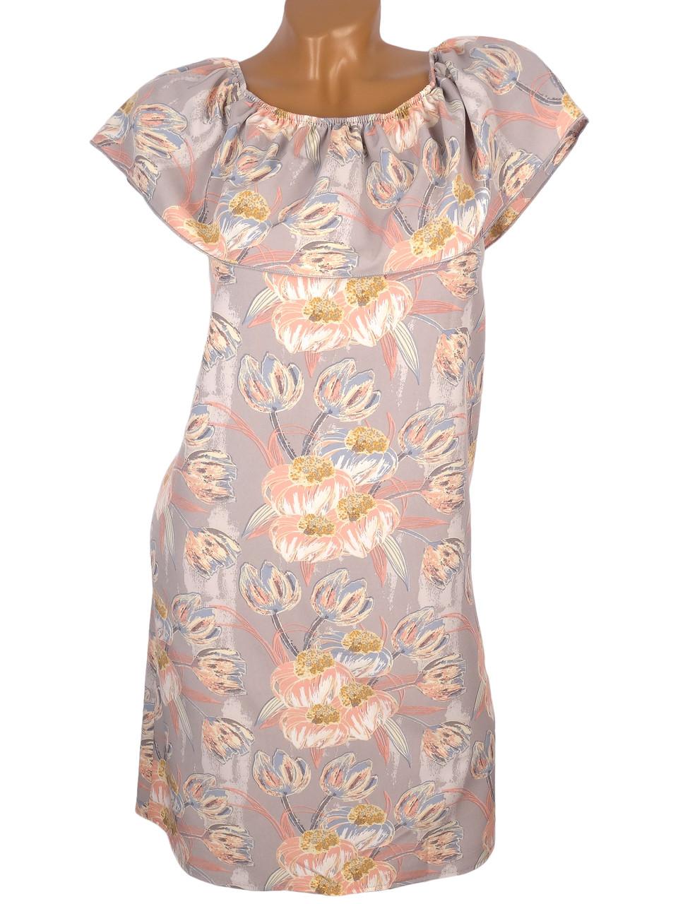Женское платье в пастельных тонах (в расцветках)