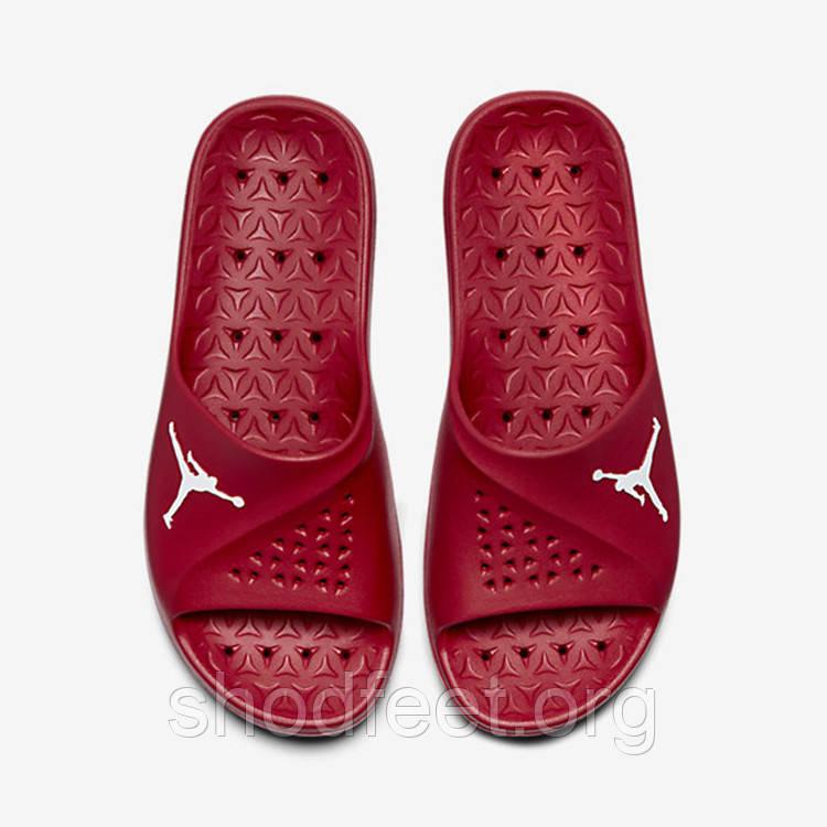 Мужские шлепанцы Jordan Super Fly Team Slide Sandals Red