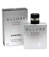 Мужская туалетная вода Chanel Allure Homme Sport (Шанель Аллюр Хомм Спорт) 100 мл