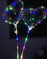 Воздушные шарики с подсветкой (Сердечки)