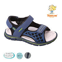 Босоножки, сандалии для мальчика р.26-31 ТM Tom.m С-Т34-24-А blue