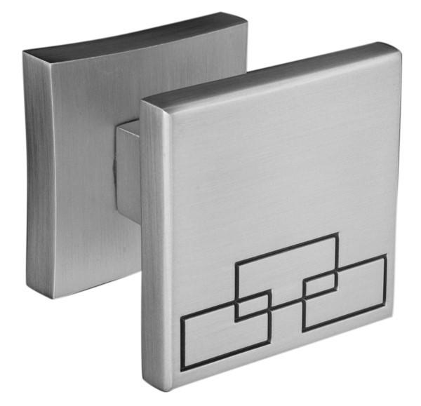 Дверна ручка ORO&ORO LOTUS KNOB 16K-13E MSN перламутровий нікель