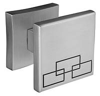 Дверна ручка ORO&ORO LOTUS KNOB 16K-13E MSN перламутровий нікель, фото 1