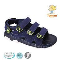 Босоножки, сандалии для мальчика р.26-31 ТM Tom.m С-Т33-14-F d/blue