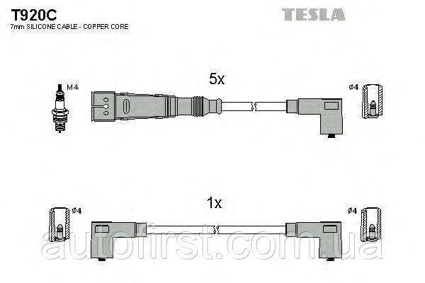 Tesla T920C Высоковольтные провода VW