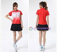 Спортивный женский костюм для бадминтона и тенниса Li-Ning