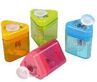 Точилка KUM Mini-Tri K1 Pop (НІМЕЧЧИНА) пластик. з/контейнером 1 відділ. (24шт. в упаковке)