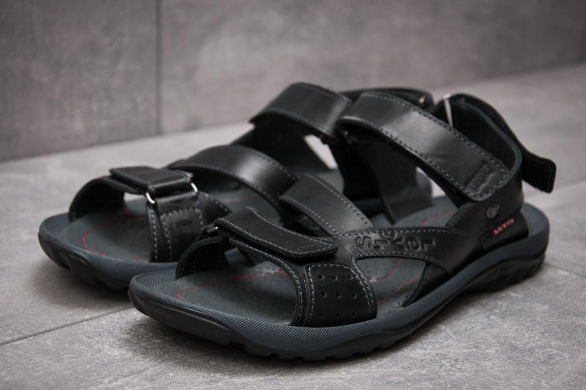 Сандалии мужские Levi's Summer, черные (13571),  [   41 44  ]