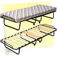 """Раскладная кровать """"Верона"""" на 15 ламелях со съёмным матрасом (Италия)"""