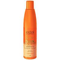 Шампунь 300мл Увлажнение и питание для всех типов волос с UV-фильтром  CUREX SUN FLOWER Estel