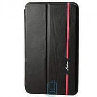 Чехол-книжка для Samsung Galaxy Tab 4 силиконовая накладка Lishen Черный
