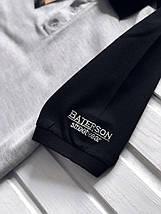 Серая мужская футболка-поло, фото 2