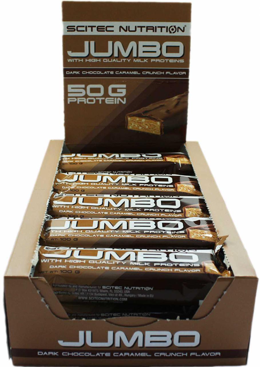 Протеїнові батончики Scitec Nutrition Jumbo Bar 15х100 g