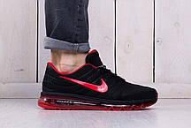 Мужские кроссовки Nike Air Max 2017 Black Red Shoes топ реплика, фото 3