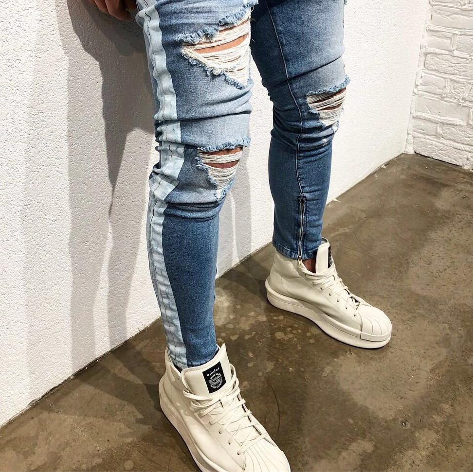 "Мужские джинсы ""Fashion casual"""