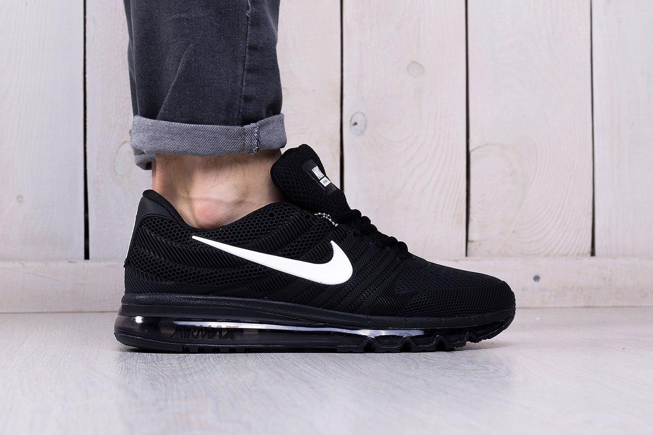 4a06c91e Мужские кроссовки Nike Air Max 2017 Black топ реплика - Интернет-магазин  обуви и одежды