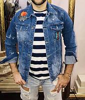 Мужская джинсовая куртка GUCCI