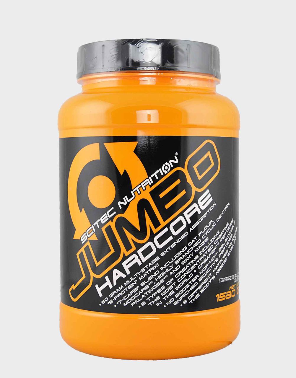 Гейнер Scitec Nutrition Jumbo Hardcore 1530 g