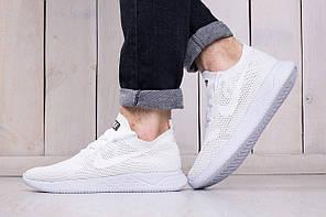 Мужские кроссовки Nike 2018 White топ реплика, фото 3