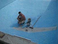 Реставрация стекловолоконных бассейнов