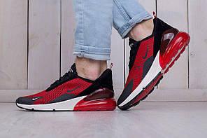 Мужские кроссовки Nike Air Max 270 Red красные топ реплика, фото 2